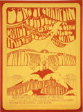 Music Memorabilia:Posters, Sons of Champlin/Cold Blood Gater Benefit Nourse AuditoriumConcert Poster (1969)....