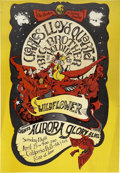 Music Memorabilia:Posters, Big Brother and the Holding Company/Charles Lloyd QuartetCalifornia Hall Concert Poster (Green Joint Project, 1967)....