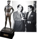 Movie/TV Memorabilia:Awards, Glenn Ford's Belgian Newspaper Award.... (Total: 2 Items)