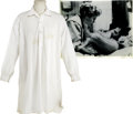 Movie/TV Memorabilia:Costumes, Glenn Ford's Nightshirt from Cimarron....
