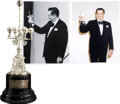 Movie/TV Memorabilia:Awards, Glenn Ford's San Sebastian International Film Festival Award....