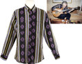 Music Memorabilia:Costumes, The Who - John Entwistle Owned and Worn Dress Shirt....