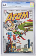 Silver Age (1956-1969):Superhero, The Atom #7 (DC, 1963) CGC NM 9.4 White pages....