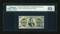 Fractional Currency:Third Issue, Fr. 1294 25c Third Issue PMG Gem Uncirculated 65 EPQ....