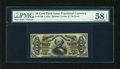 Fractional Currency:Third Issue, Fr. 1338 50c Third Issue Spinner PMG Choice About Unc 58 EPQ....