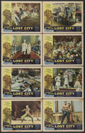 "Movie Posters:Adventure, Journey to the Lost City (American International, 1960). Lobby CardSet of 8 (11"" X 14""). Adventure.... (Total: 8 Items)"