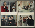 "Movie Posters:Drama, Behind the Mask (British Lion, 1958). Deluxe British Lobby Cards (4) (11"" X 14""). Drama.... (Total: 4 Items)"