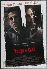 """Tango & Cash (Warner Brothers, 1989). One Sheet (27"""" X 40""""). Action"""