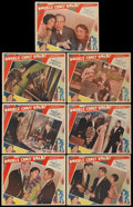 "Movie Posters:Crime, Double Cross Roads (Fox, 1930). Lobby Cards (7) (11"" X 14"").Crime.... (Total: 7 Items)"