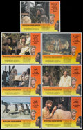 "Movie Posters:Adventure, Man Friday (Avco Embassy, 1975). Lobby Cards (7) (11"" X 14"").Adventure.... (Total: 7 Items)"