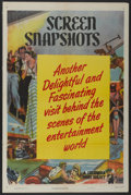 "Movie Posters:Short Subject, Screen Snapshots Stock Poster (Columbia, 1950). One Sheet (27"" X41""). Short Subject...."