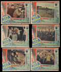 """Movie Posters:Action, Men Without Women (Fox, 1930). Lobby Cards (6) (11"""" X 14"""").Action.... (Total: 6 Items)"""