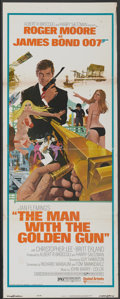 "Movie Posters:James Bond, The Man With the Golden Gun (United Artists, 1974). Insert (14"" X36""). James Bond...."