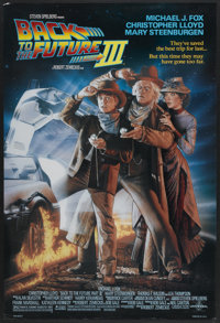 """Back to the Future Part III (Universal, 1990). One Sheet (27"""" X 40"""") DS. Science Fiction"""