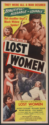 "Mesa of Lost Women (Howco, 1953). Insert (14"" X 36""). Science Fiction"