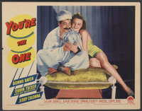 "You're the One (Paramount, 1941). Lobby Card (11"" X 14""). Musical"