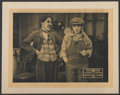 """Movie Posters:Comedy, Behind the Screen (Republic, R-1920s). Lobby Card (11"""" X 14"""").Comedy...."""