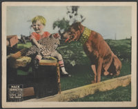 "Down on the Farm (United Artists, 1920). Lobby Card (11"" X 14""). Comedy"