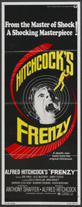 """Movie Posters:Hitchcock, Frenzy (Universal, 1972). Insert (14"""" X 36""""). Hitchcock...."""
