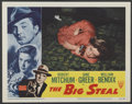 "Movie Posters:Film Noir, The Big Steal (RKO, 1949). Lobby Card (11"" X 14""). Film Noir...."