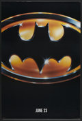"Movie Posters:Action, Batman (Warner Brothers, 1989). One Sheet (27"" X 40"") Advance. Action...."