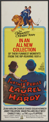 """The Further Perils of Laurel and Hardy (20th Century Fox, 1967). Insert (14"""" X 36""""). Comedy"""