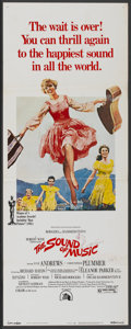 "Movie Posters:Academy Award Winner, The Sound of Music (20th Century Fox, R-1973). Insert (14"" X 36"").Academy Award Winner...."