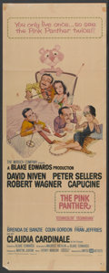 "Movie Posters:Comedy, The Pink Panther (United Artists, 1964). Insert (14"" X 36""). Comedy...."