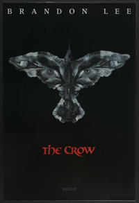 """The Crow (Miramax, 1994). One Sheet (27"""" X 40"""") SS Advance. Action"""