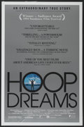 """Movie Posters:Sports, Hoop Dreams (Fine Line Features, 1994). One Sheet (27"""" X 41""""). Sports Documentary...."""