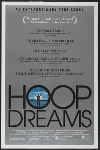 """Hoop Dreams (Fine Line Features, 1994). One Sheet (27"""" X 41""""). Sports Documentary"""