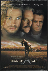 """Legends of the Fall (Tri-Star, 1994). One Sheet (27"""" X 40"""") SS. Drama"""