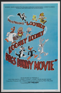 """The Looney Looney Looney Bugs Bunny Movie (Warner Brothers, 1981). One Sheet (27"""" X 41""""). Animated"""