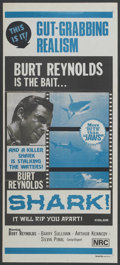 "Movie Posters:Adventure, Shark! (Excelsior, 1968). Australian Daybill (13"" X 30"").Adventure...."