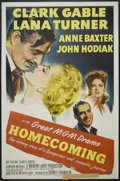 "Movie Posters:Drama, Homecoming (MGM, 1948). One Sheet (27"" X 41""). Drama...."