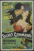 "Movie Posters:War, Secret Command (Columbia, 1944). One Sheet (27"" X 41"") Style A.War...."
