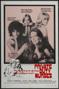 "Movie Posters:Sexploitation, Private Duty Nurses (New World, 1971). One Sheet (27"" X 41"").Sexploitation...."