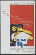 """Movie Posters:Drama, Of Love and Desire (20th Century Fox, 1963). One Sheet (27"""" X 41""""). Drama...."""