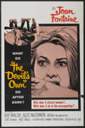 """Movie Posters:Horror, The Devil's Own (20th Century Fox, 1967). One Sheet (27"""" X 41""""). Horror...."""