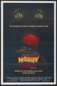 """Harry and the Hendersons (Universal, 1987). One Sheet (27"""" X 41""""). Comedy"""