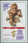 "Movie Posters:War, Cast a Giant Shadow (United Artists, 1966). One Sheet (27"" X 41"").War...."