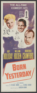 "Movie Posters:Comedy, Born Yesterday (Columbia, R-1961). Insert (14"" X 36""). Comedy...."
