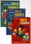 Silver Age (1956-1969):Cartoon Character, Uncle Scrooge #51-64 Group (Gold Key, 1964-66) Condition: Average FN+.... (Total: 14 Comic Books)