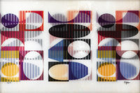 YAACOV AGAM (Israeli, b. 1928) Synthesis Antithesis Agamograph Ed. 37/99 Signed lower right: <