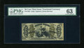 Fractional Currency:Third Issue, Fr. 1358 50c Third Issue Justice PMG Choice Uncirculated 63....