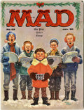 Magazines:Mad, Mad #52 (EC, 1960) Condition: VG+....