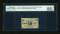 Fractional Currency:Third Issue, Fr. 1227 3c Third Issue PMG Choice Uncirculated 64 EPQ....