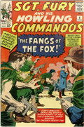 Silver Age (1956-1969):War, Sgt. Fury and His Howling Commandos #6 (Marvel, 1964) Condition: VF-....