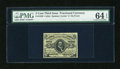 Fractional Currency:Third Issue, Fr. 1239 5c Third Issue PMG Choice Uncirculated 64 EPQ....