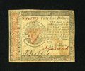 Colonial Notes:Continental Congress Issues, Continental Currency January 14, 1779 $55 Very Fine....